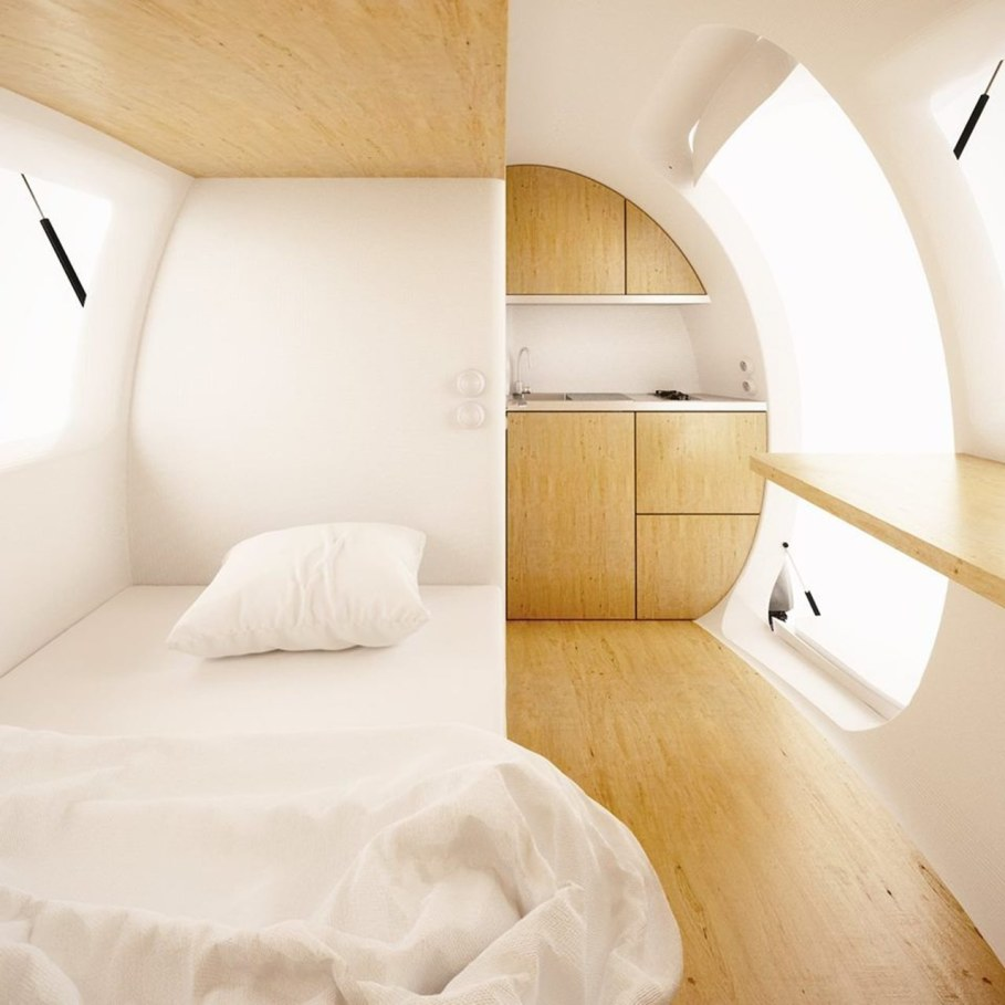 Ecocapsule from Nice Architects - Interior 2
