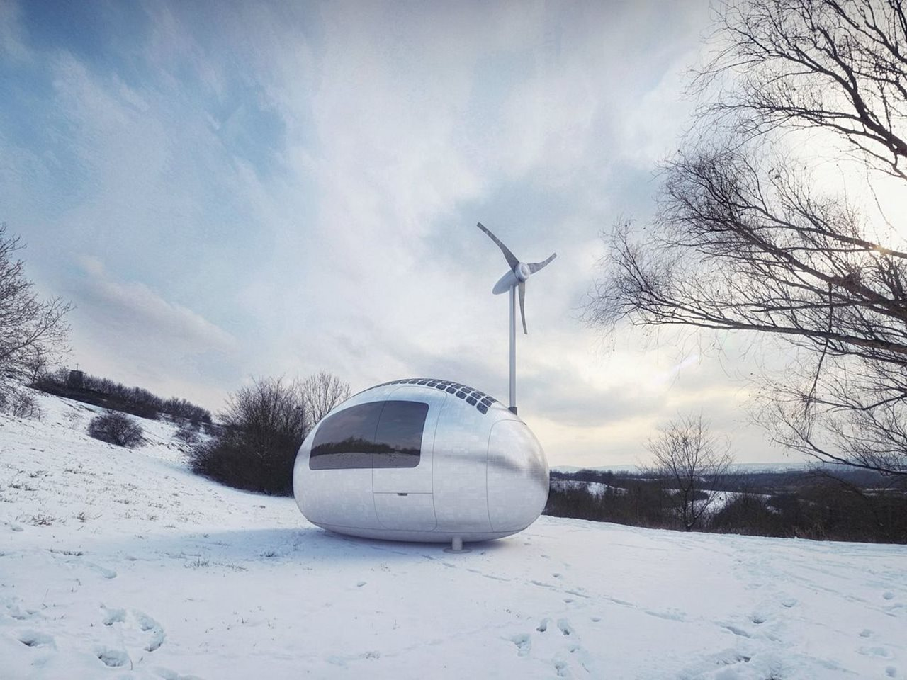 Ecocapsule Live Where You Want