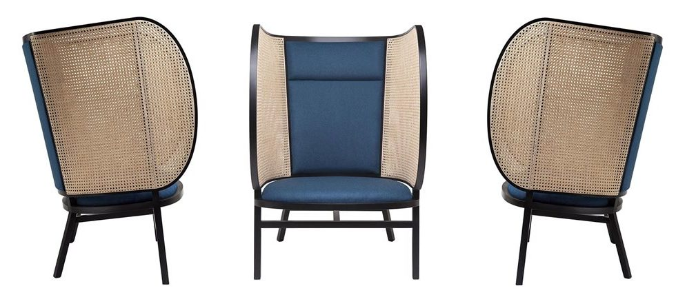 Hideout Lounge Chair in Michael Thonet Style