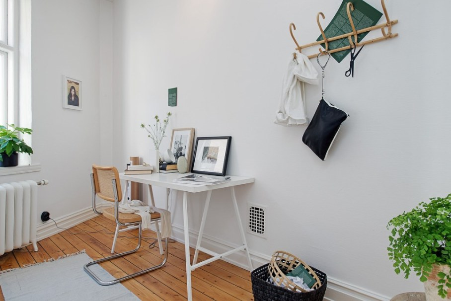 Home office in Scandinavian style - Anything can inspire and encourage to work