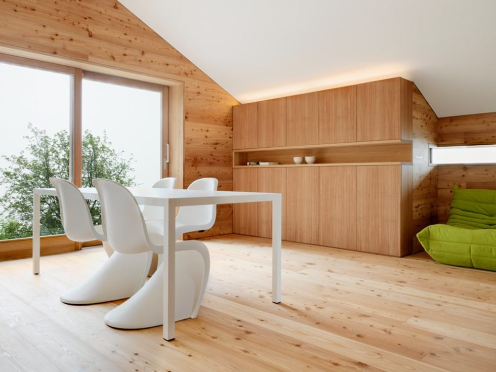 Humble Chalet in Switzerland - Dining table