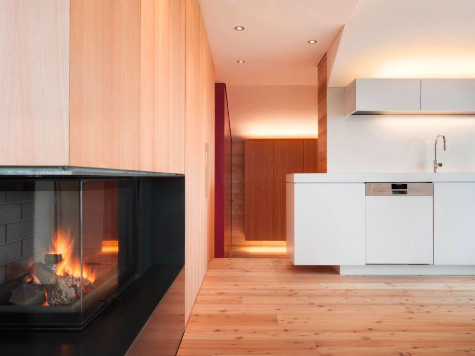 Humble Chalet in Switzerland - Fireplace