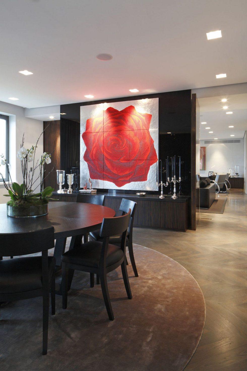 Kensington Place - Dining room Luxury interior