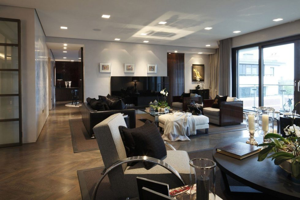 Kensington Place - Living room Luxury interior