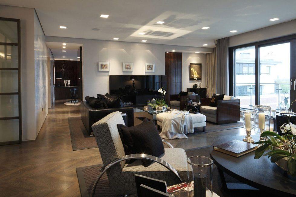 Kensington Place - Living room Luxury interior
