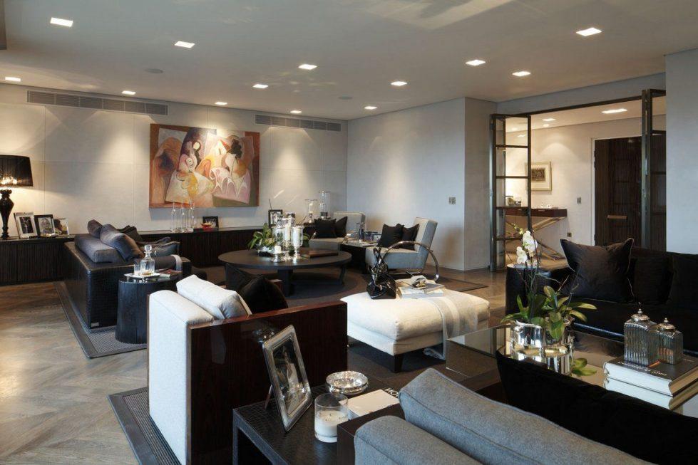 Kensington Place - Living room design ideas