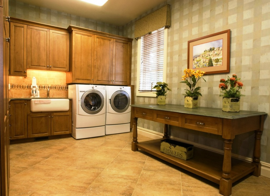 Special laundry room decorating ideas - Decorating laundry room ideas ...