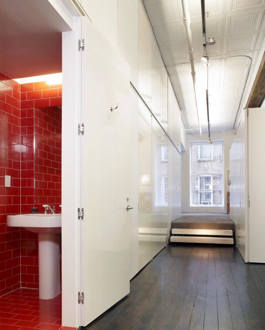 Loft Of 300 square meters in New York - Bathroom