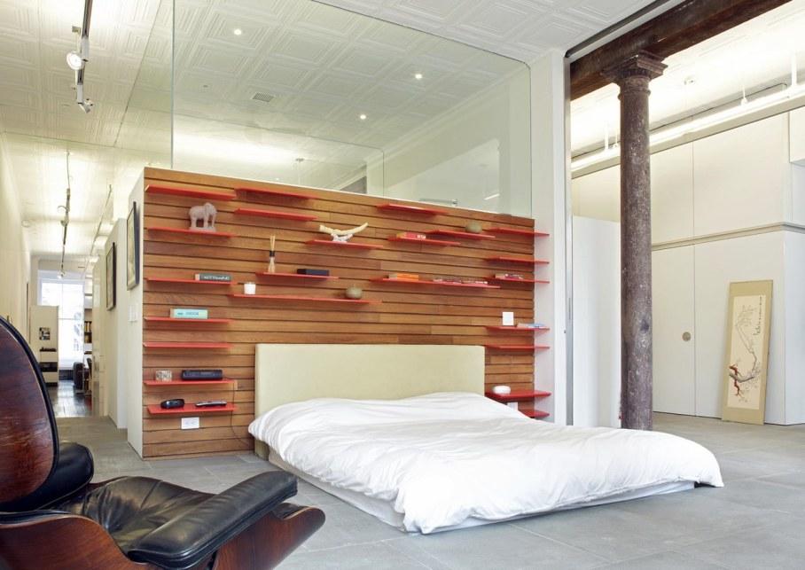 Loft Of 300 square meters in New York - Bedroom