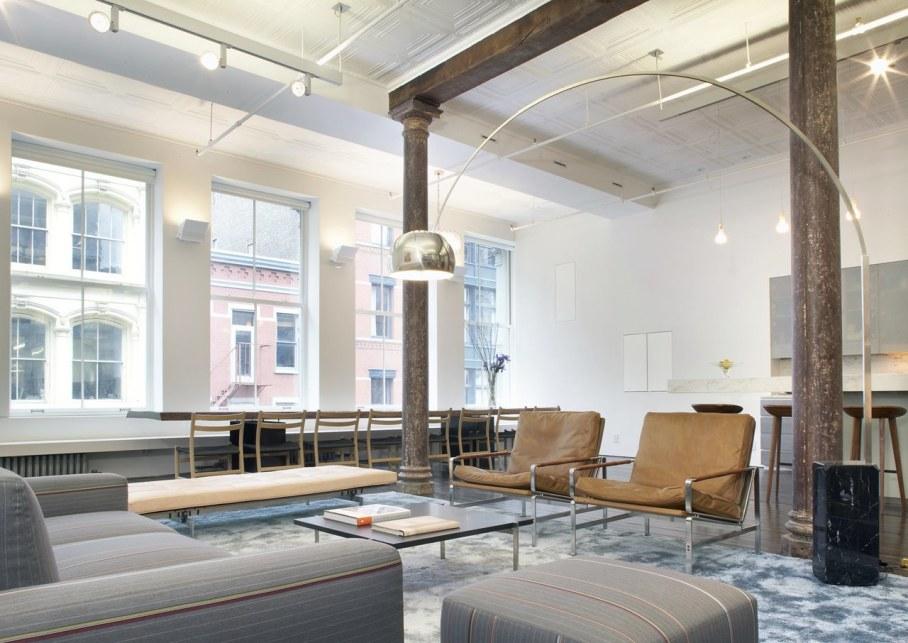 Loft Of 300 square meters in New York - Furniture