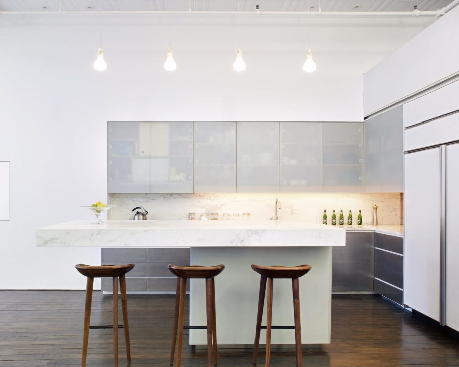 Loft Of 300 square meters in New York - Kitchen 4
