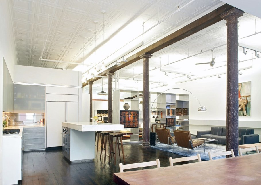 Loft Of 300 square meters in New York - Kitchen