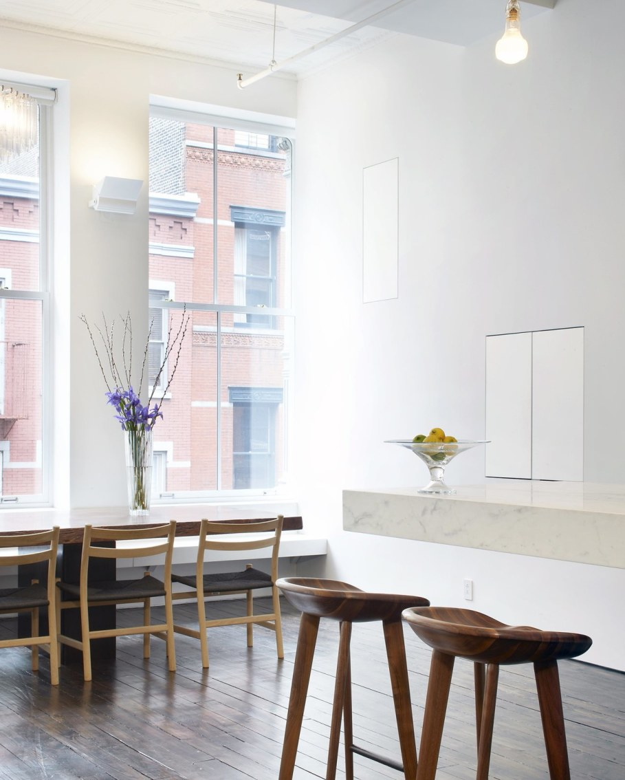 Loft Of 300 square meters in New York - Kitchen design ideas