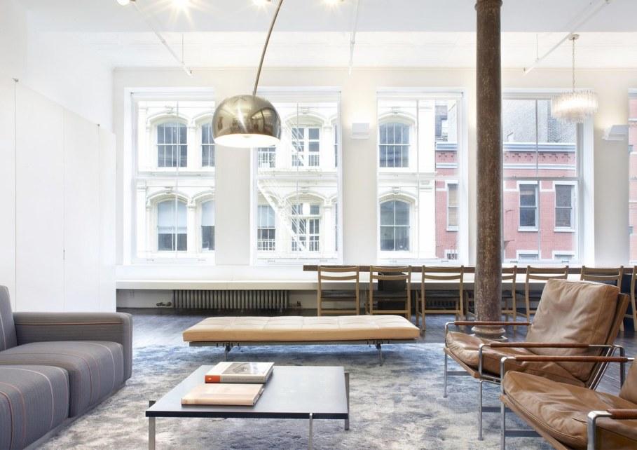 Loft Of 300 square meters in New York - Living room 2