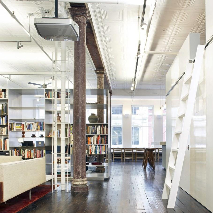 Loft Of 300 square meters in New York - Living room design ideas