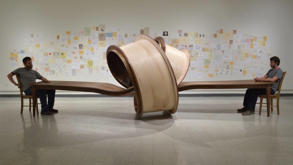 Michael Beitz sculpture table