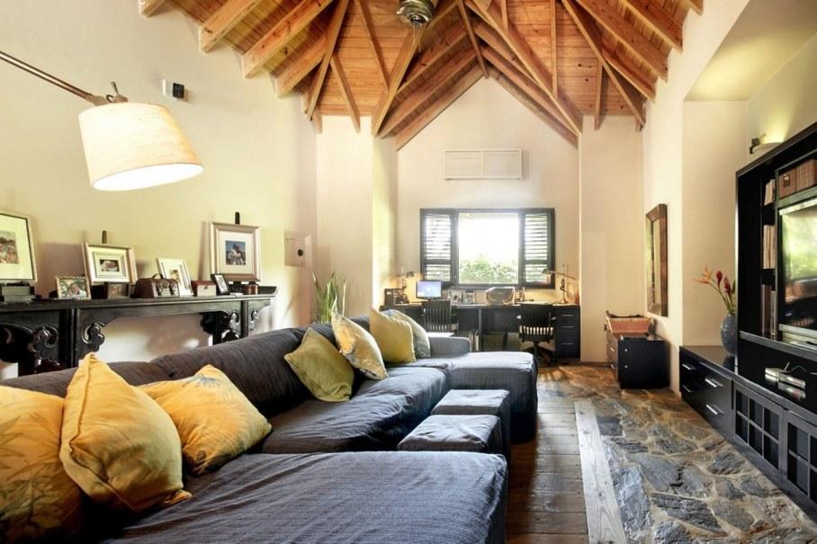 Onshore Villa At The Dominican Republic - Living room 2