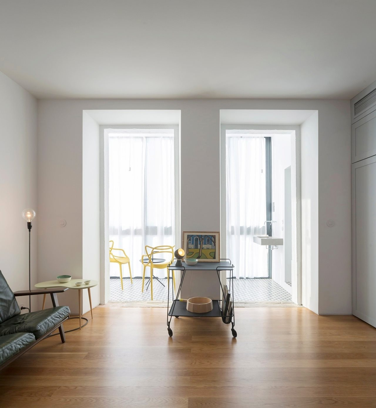 old apartment renovation in lisbon