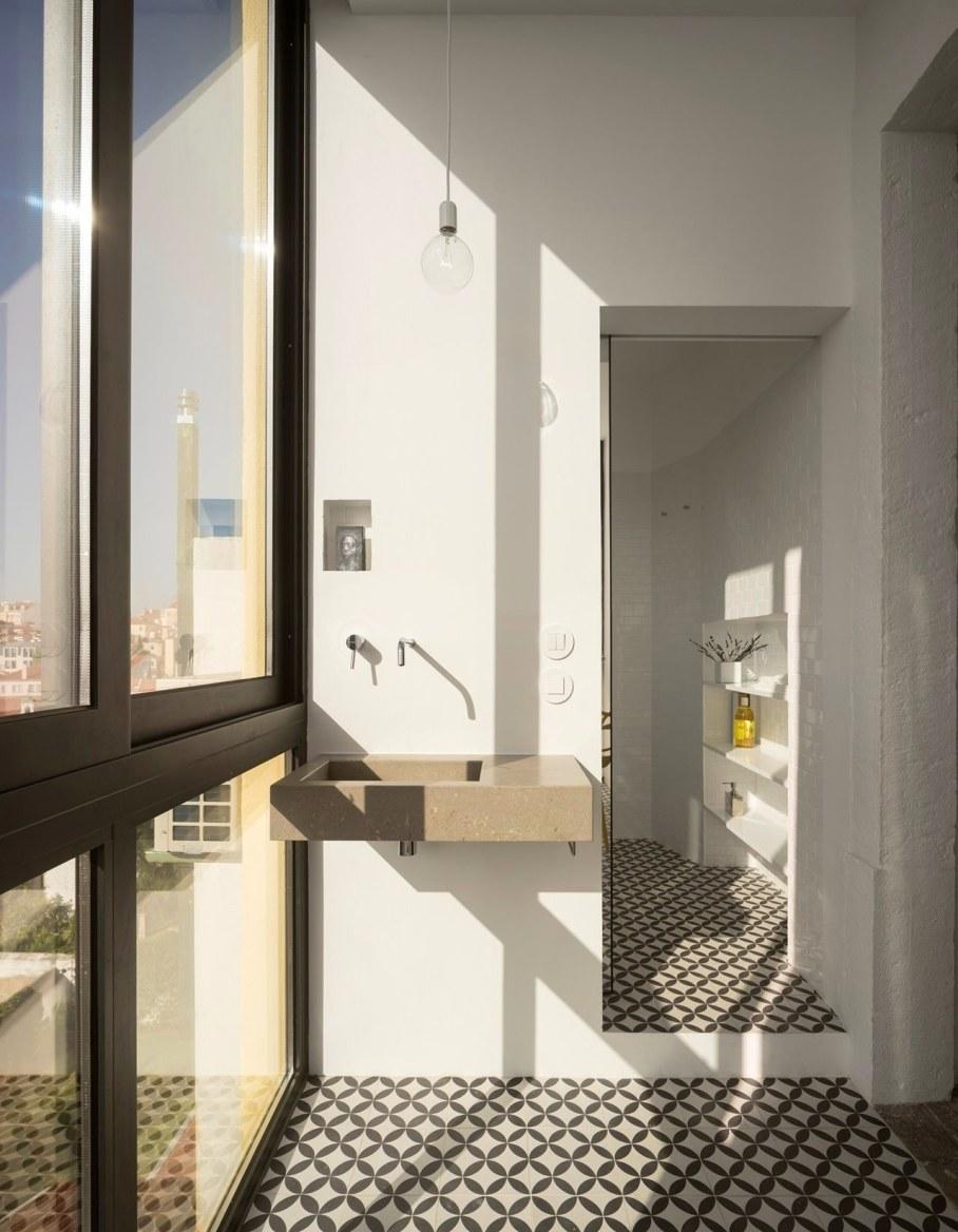 Principe Real Apartment from Fala atelier - bathroom 4
