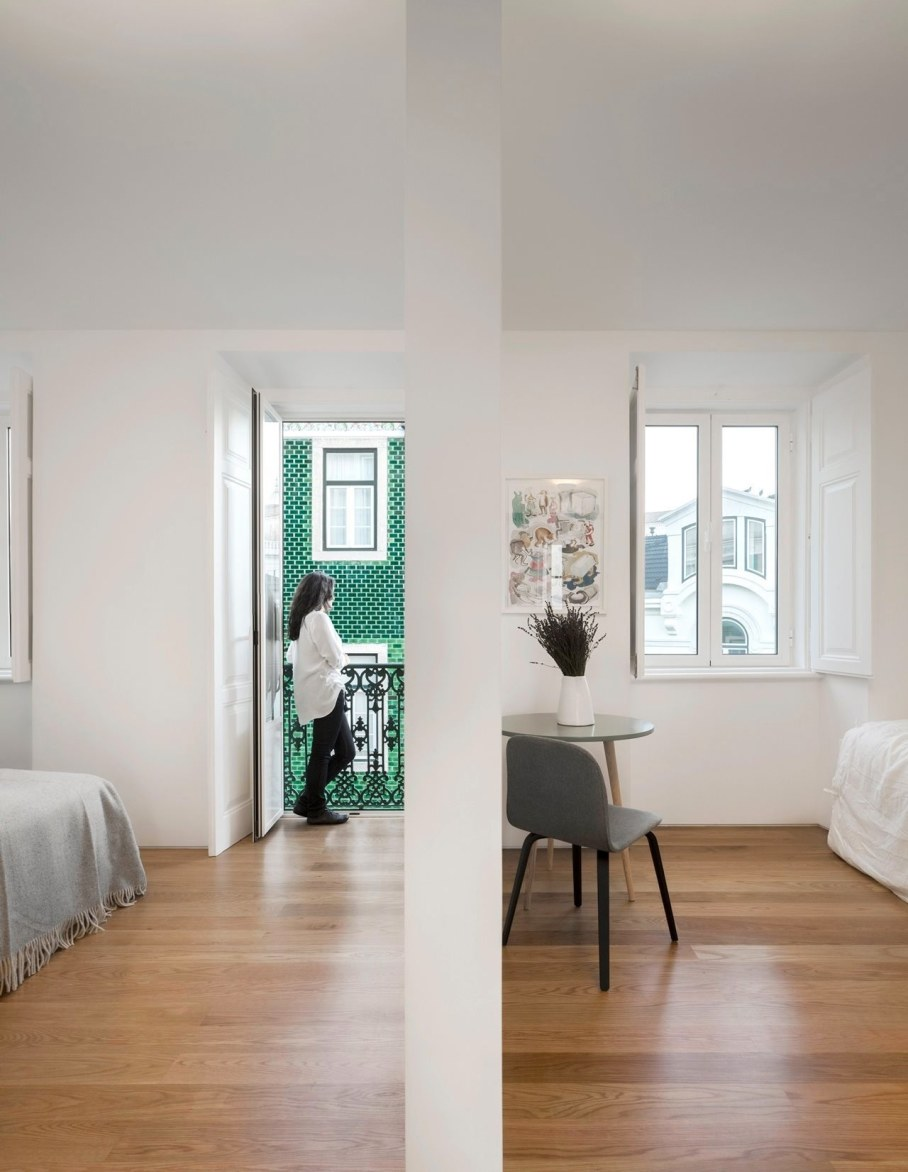 Principe Real Apartment from Fala atelier - bedroom 2