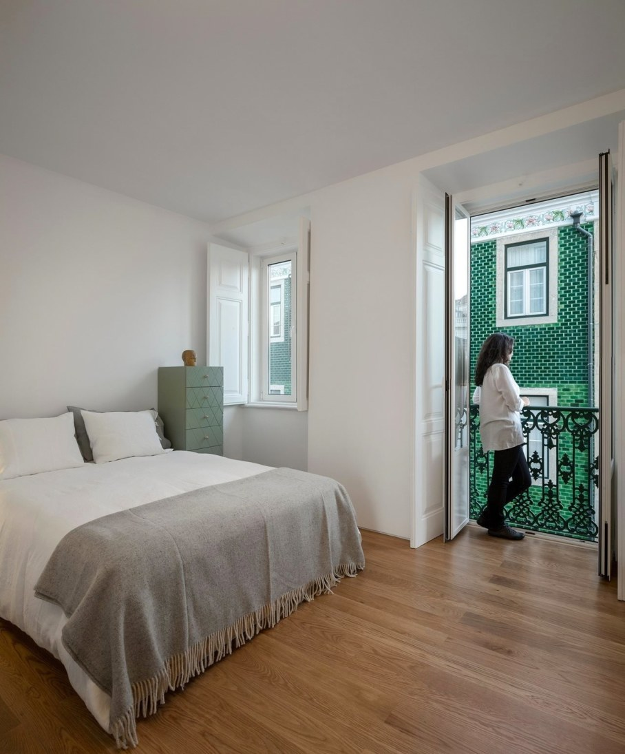 Principe Real Apartment from Fala atelier - bedroom