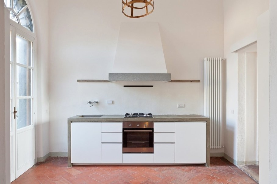 Renovation Of The Former Monastery Building in Tuscany - Kitchen