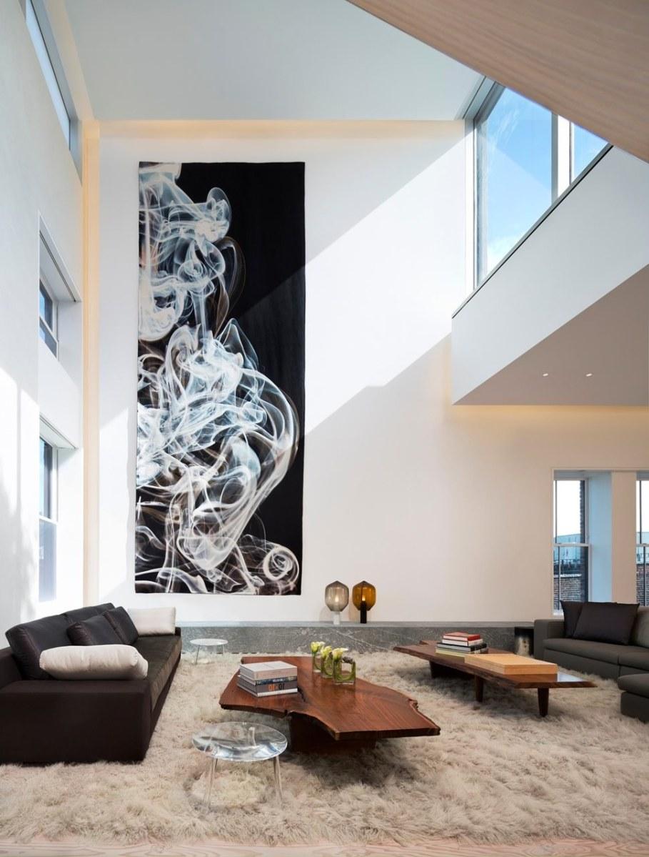 Scandinavian loft in Soho from Gabellini Sheppard Associates - Living room