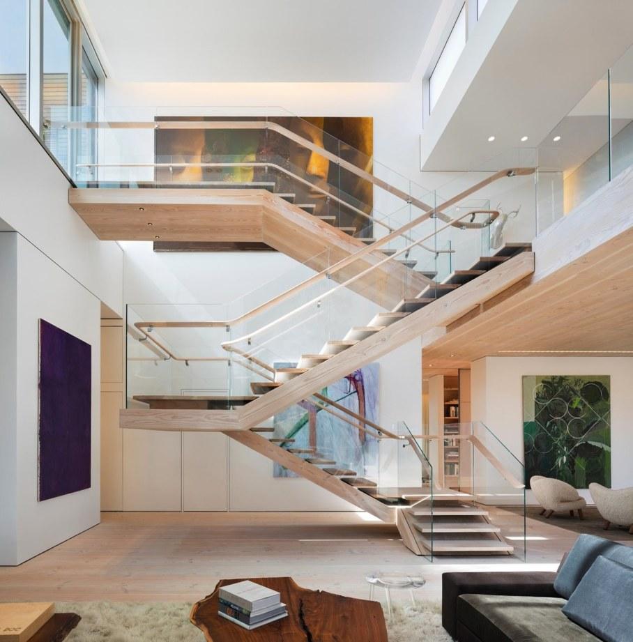 Scandinavian loft in Soho from Gabellini Sheppard Associates - Staircase