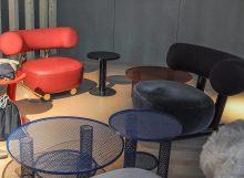 Sebastian Herkner`s Furniture for Moroso