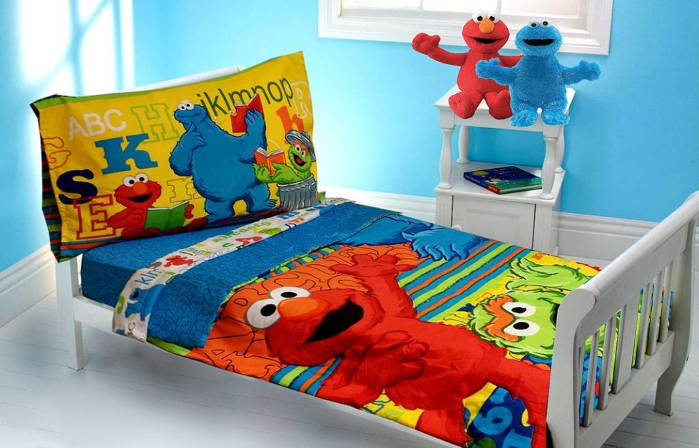 Sesame Street Decorations for Kids' Bedroom