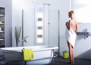 Bathroom solarium