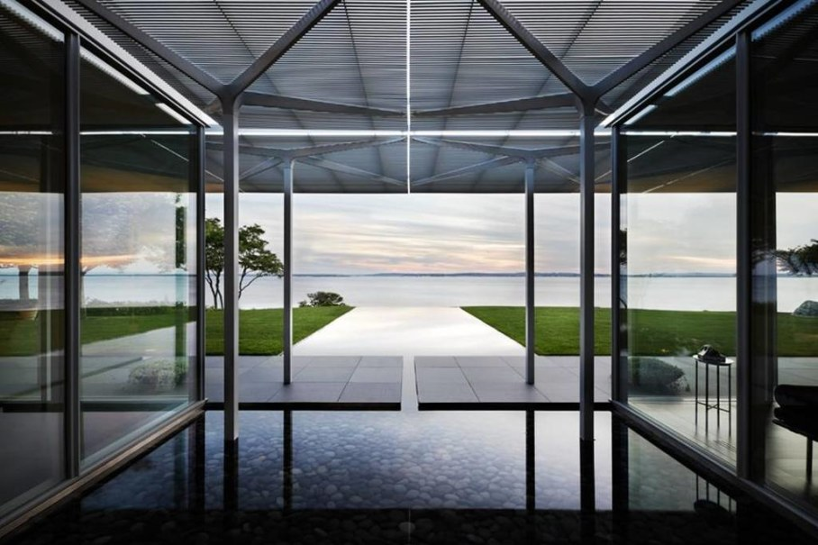 Swimming pool design ideas - The House in Fishers Island