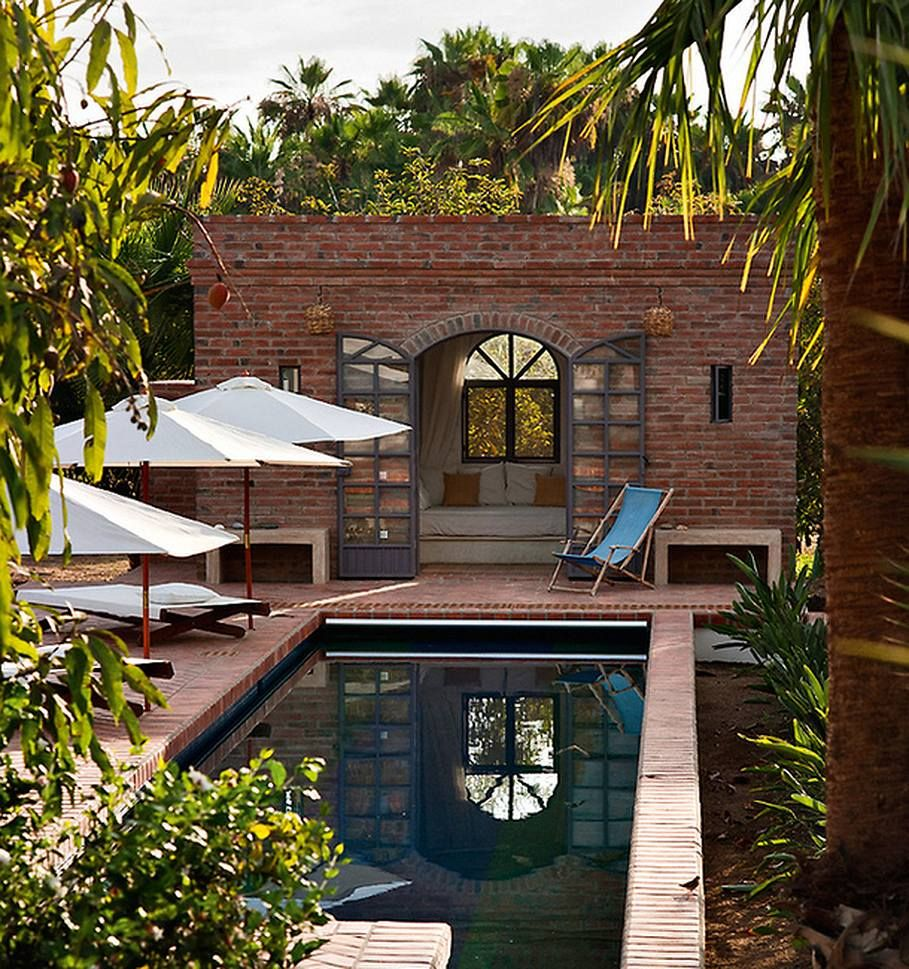 Swimming pool design ideas - The House in Mexico