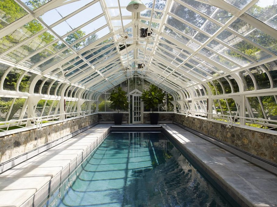 Swimming pool design ideas - The House in New York