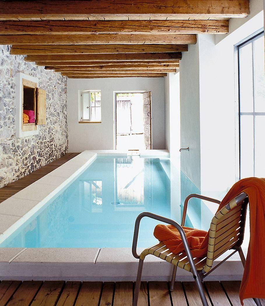 Swimming pool design ideas - The House in the Alps