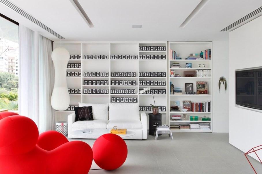 Tempo House - Living room