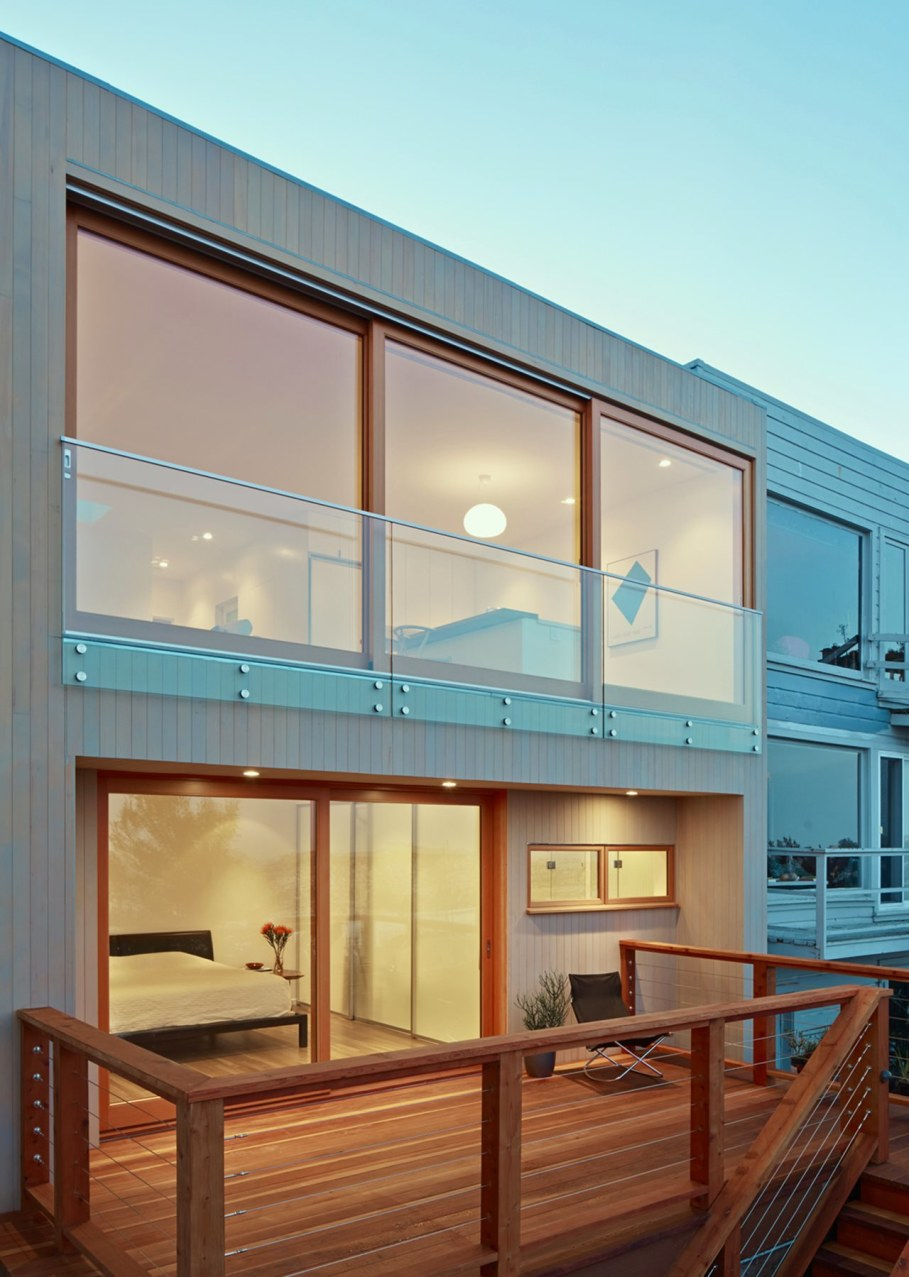 The House With A San-Francisco View - Bedroom with terrace