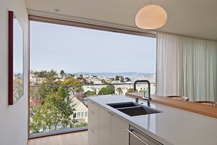 The House With A San-Francisco View - Kitchen island
