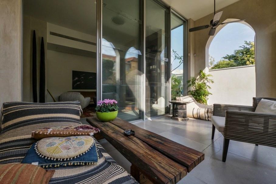 Villa from Witt Architects In Tel-Aviv - Outdoor terrace