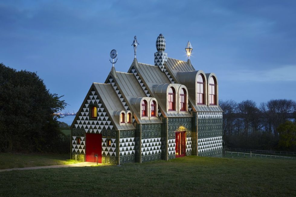A House for Essex from FAT Architecture - facade