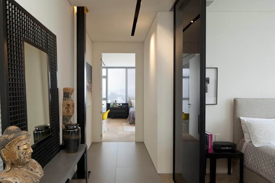 Apartments with panoramic views in Tel Aviv - Bedroom