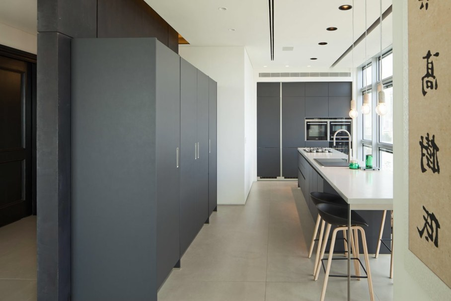 Apartments with panoramic views in Tel Aviv - Kitchen
