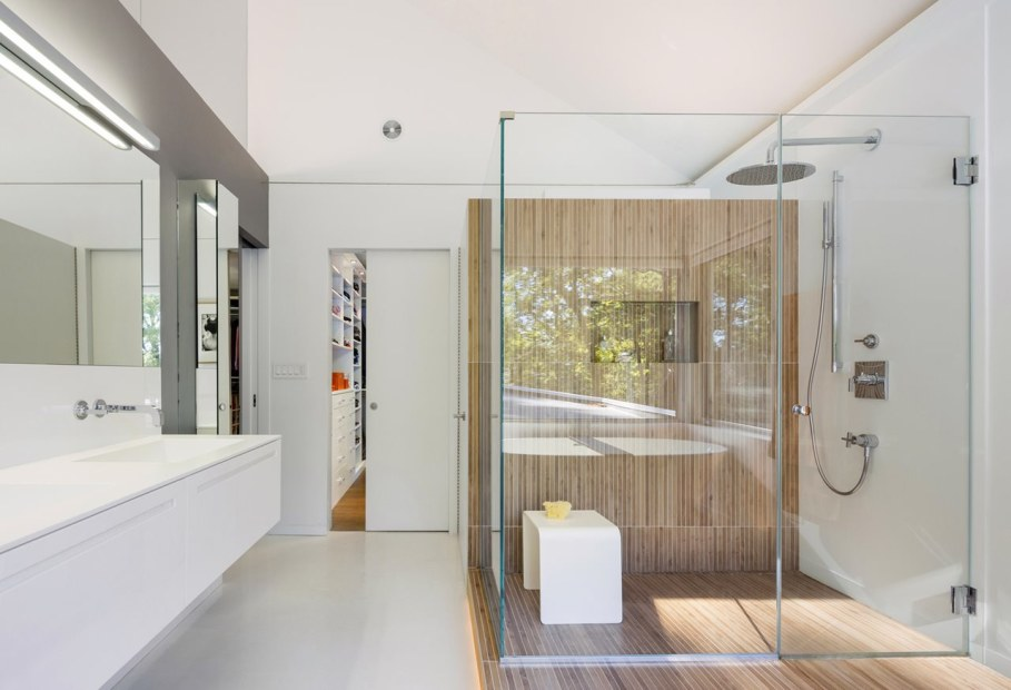 Colonial house from Fougeron Architecture studio - Bathroom 2