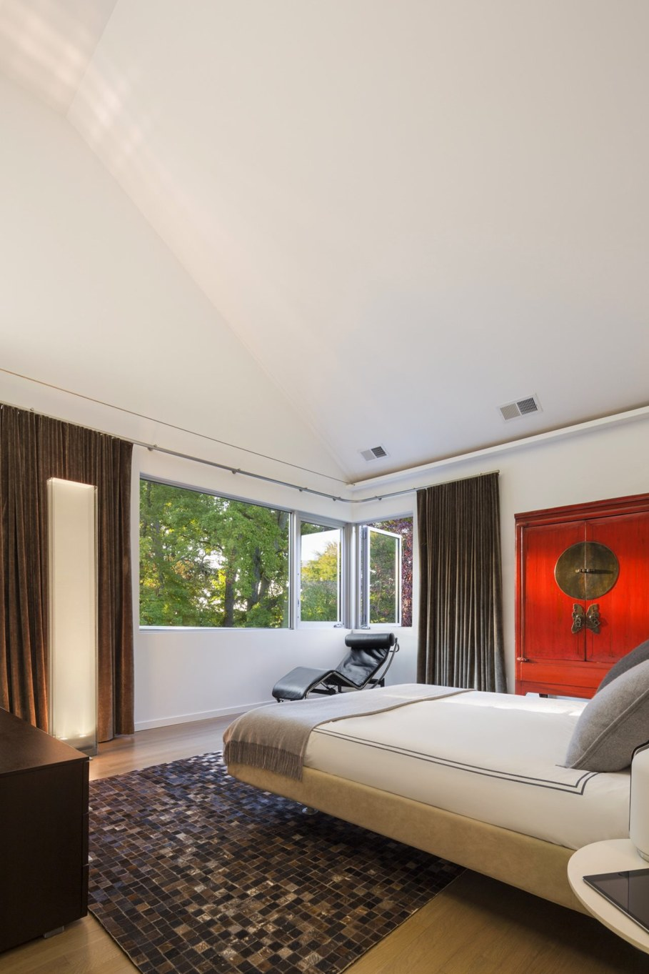 Colonial house from Fougeron Architecture studio - Bedroom