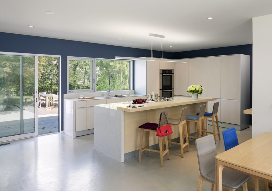 Colonial house from Fougeron Architecture studio - Kitchen