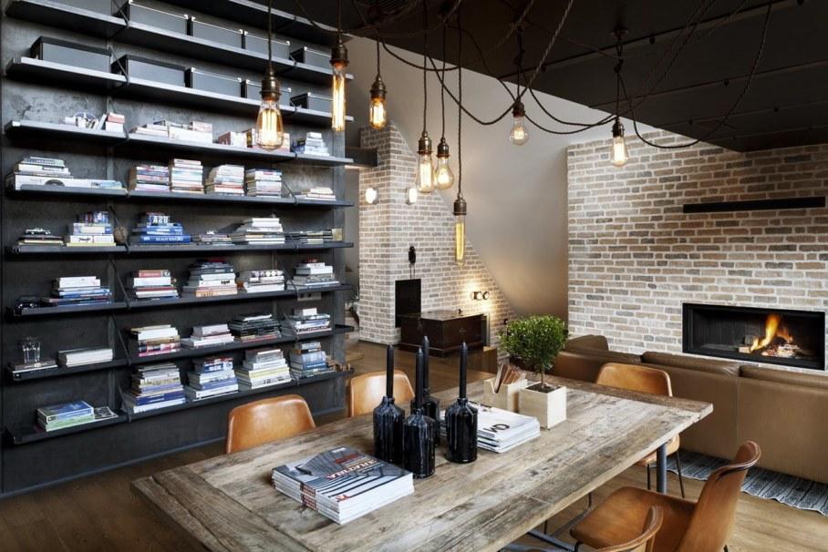 Designer`s Loft 9b In Sofia - Home library