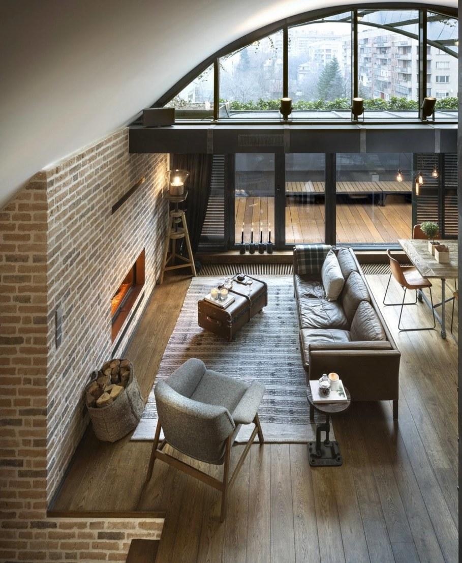 Designer`s Loft 9b In Sofia - Living room 2