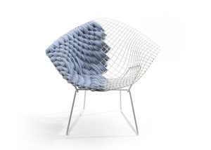 Transfiguration of Harry Bertoia`s Legendary Chair