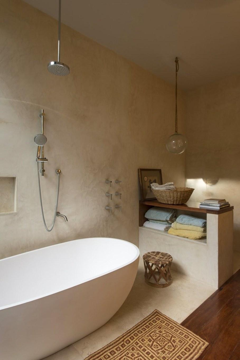 Energy-Saving Itzimna House in Mexico - Bathroom