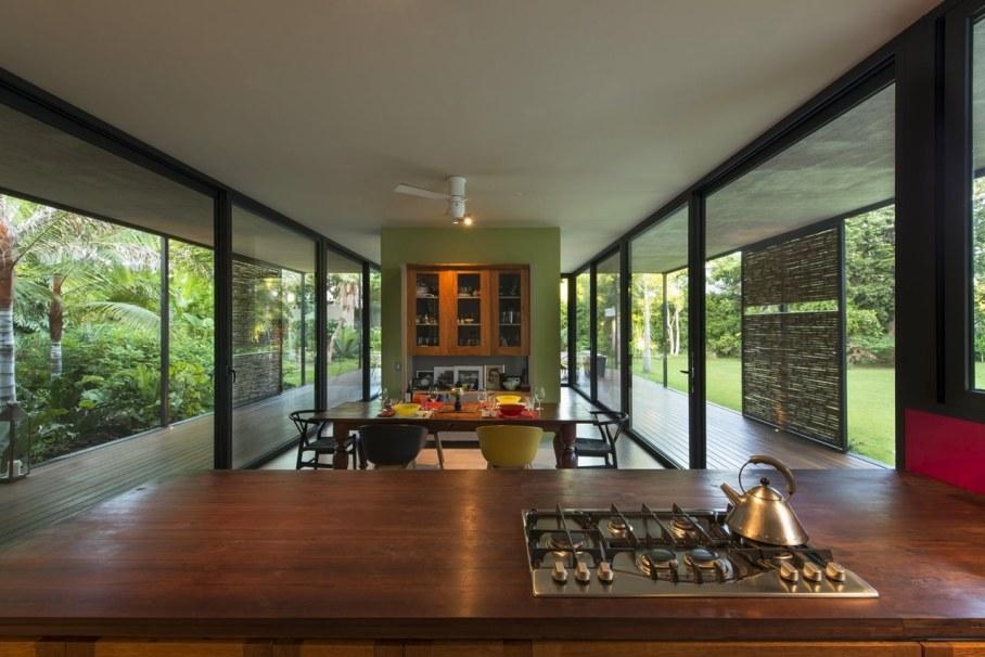 Energy-Saving Itzimna House in Mexico - Kitchen